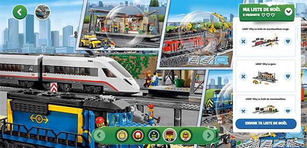 Tentez de remporter votre liste de cadeaux de Noël Lego