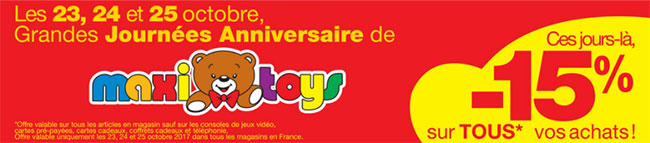 Catalogue Promotion Maxitoys Noël 2017