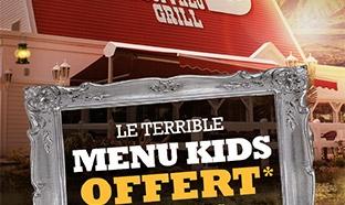 Buffalo Grill : Repas enfants gratuits pour Halloween 2018