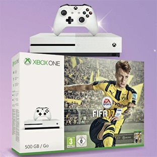 Intermarché : Pack Xbox One S + Fifa 17 + 2 manettes à 269€
