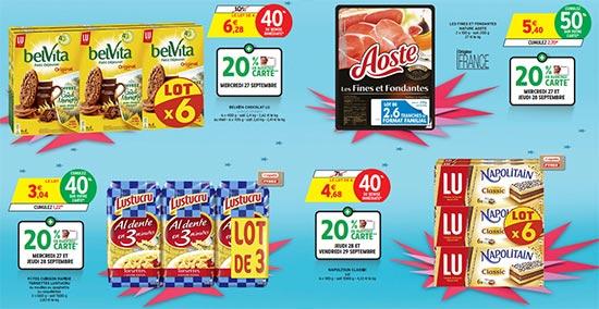 Promotions Anniversaire Intermarché