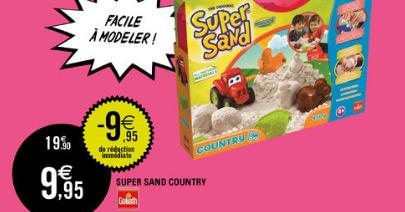 Le kit Super Sand de Goliath en promotion chez Leclerc