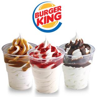 Resultado de imagem para sundae do burger king