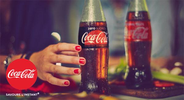 Devenez testeur de Coca-Cola zéro sucres