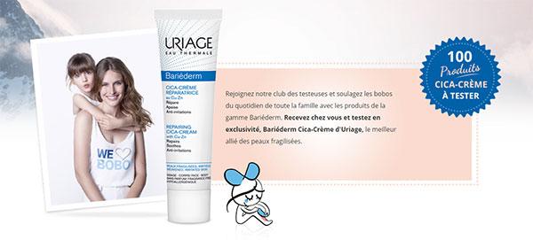 Testez gratuitement le soin Uriage Cica-Crème