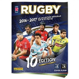 Album Panini Rugby 2016-17 gratuit – Collections Sports