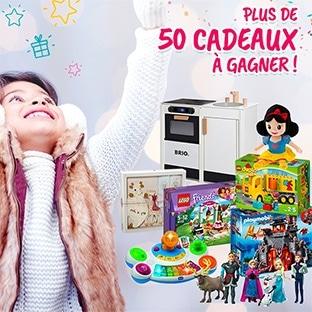 Concours Avenue des Jeux et Parents : + de 50 cadeaux à gagner