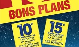 Carrefour Jouets : 15€ offerts en bon d'achat par tranche de 50€