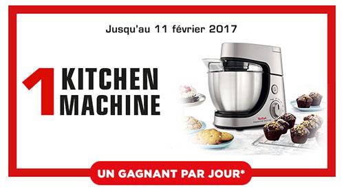 93 Kitchen Machine MasterChef Gourmet de Tefal à remporter