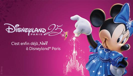 gagnez des entrées et des séjours à Disneyland Paris
