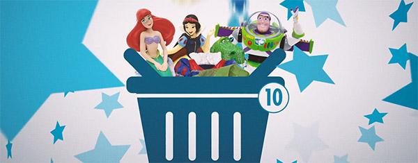 Cadeaux gratuits à gagner avec Disney Extras