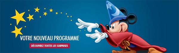 Disney Extras : Le programme de fidélité