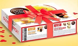 Nescafé : Échantillons gratuits de capsules Dolce Gusto