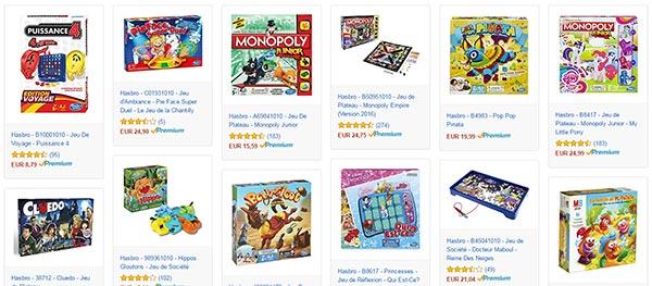 Jeux de Société Hasbro à petit prix sur Amazon : 10€ de remise