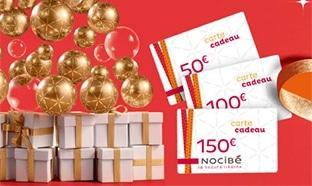 Jeu Nocibé : 31 cartes cadeaux de 50 à 150€ à gagner