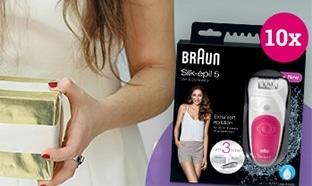 Jeu Envie de Plus : 10 épilateurs Braun Silk-épil 5 à gagner