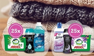 Jeu Envie de Plus : 50 kits lessive d'hiver à gagner