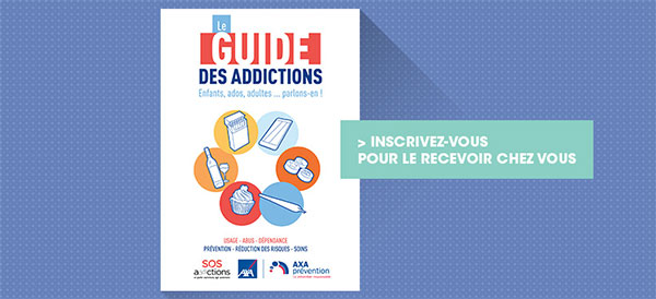 Axa et Psychologies : Distribution gratuite de Guides des Addictions