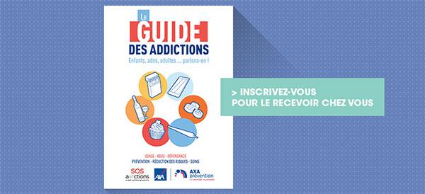 Axa et Psychologies : Distribution gratuite de Guides des Addictions