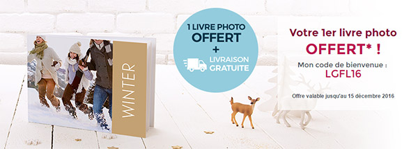 monAlbumPhoto : Livre photo gratuit et livraison offerte