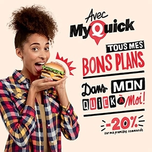 My Quick : Bons de réduction et bons plans
