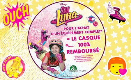 Offre de remboursement Soy Luna