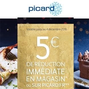 Bon de réduction Picard : 5€ de remise dès 40€ d'achat