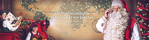 Père Noël Portable : Vidéo gratuite personnalisée pour Noël 2016