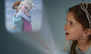 Veilleuse Projecteur Philips : Reine des Neiges Disney à 14,17€
