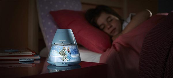 Promotion Noël 2016 : Projecteur Philips La Reine des Neiges