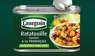 Test TRND : 7500 boîtes de Ratatouille Cassegrain gratuites
