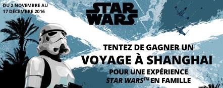 Leclerc : 200 lots Star Wars et un voyage