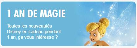 un an de magie Disney