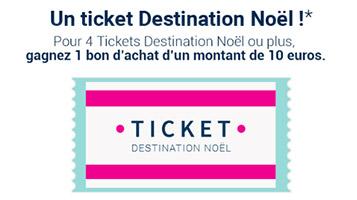 Vente-Privee : Ticket Destination Noël