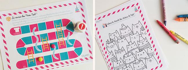 Cahier d'activités à imprimer pour occuper vos enfants pendants les vacances de Noël