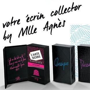 Jeu Carte Noire by Mademoiselle Agnès : 80 écrins de capsules