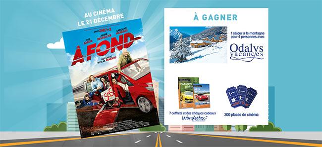 """Jouez à Speedy Racing avec le film """"À fond"""""""