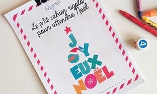 Cahier d'activités de Noël gratuit : Jeux et coloriages à imprimer
