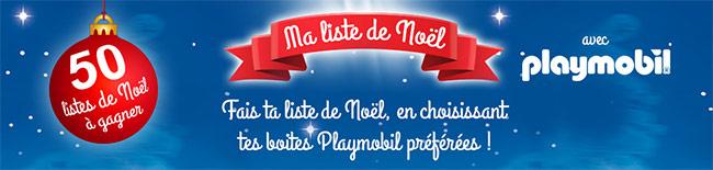 Ma liste de Noël avec TFOU : 50 lots Playmobil