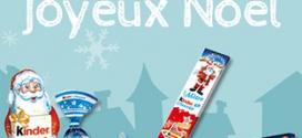 Jeu Club Kinder de Noël : 1375 cadeaux à gagner
