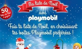 Jeu My TF1 : 50 listes de Noël Playmobil à gagner