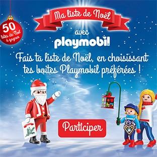 Jeu TF1 sur malisteplaymobil.fr : 50 listes de Noël Playmobil à gagner