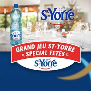 Jeu St-Yorre : 10 dotations de 150€ à gagner