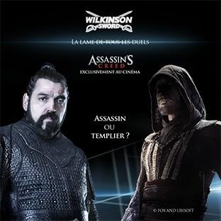 Jeu Assassin's Creed avec Wilkinson : 264 cadeaux à gagner