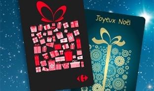 Jeu Carrefour L'Odyssée de Noël : 1350 cartes cadeaux