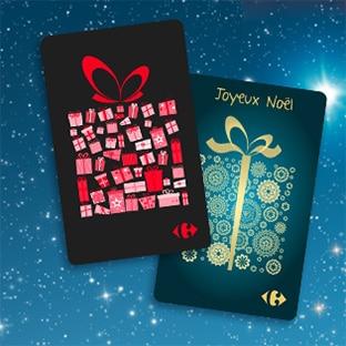 Jeu Carrefour L'Odyssée de Noël : 1350 cartes cadeaux à gagner