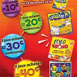 ODR jeux Goliath Noël : Jusqu'à 40€ remboursés