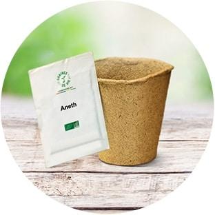Kit de plantation gratuit : Recevez des graines et un pot de semis