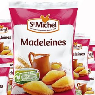 Recevez un paquet de madeleines St Michel : 9000 gratuits !
