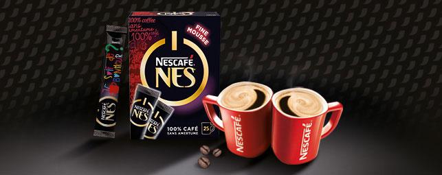 Tentez de devenir testeur Nescafé Nes